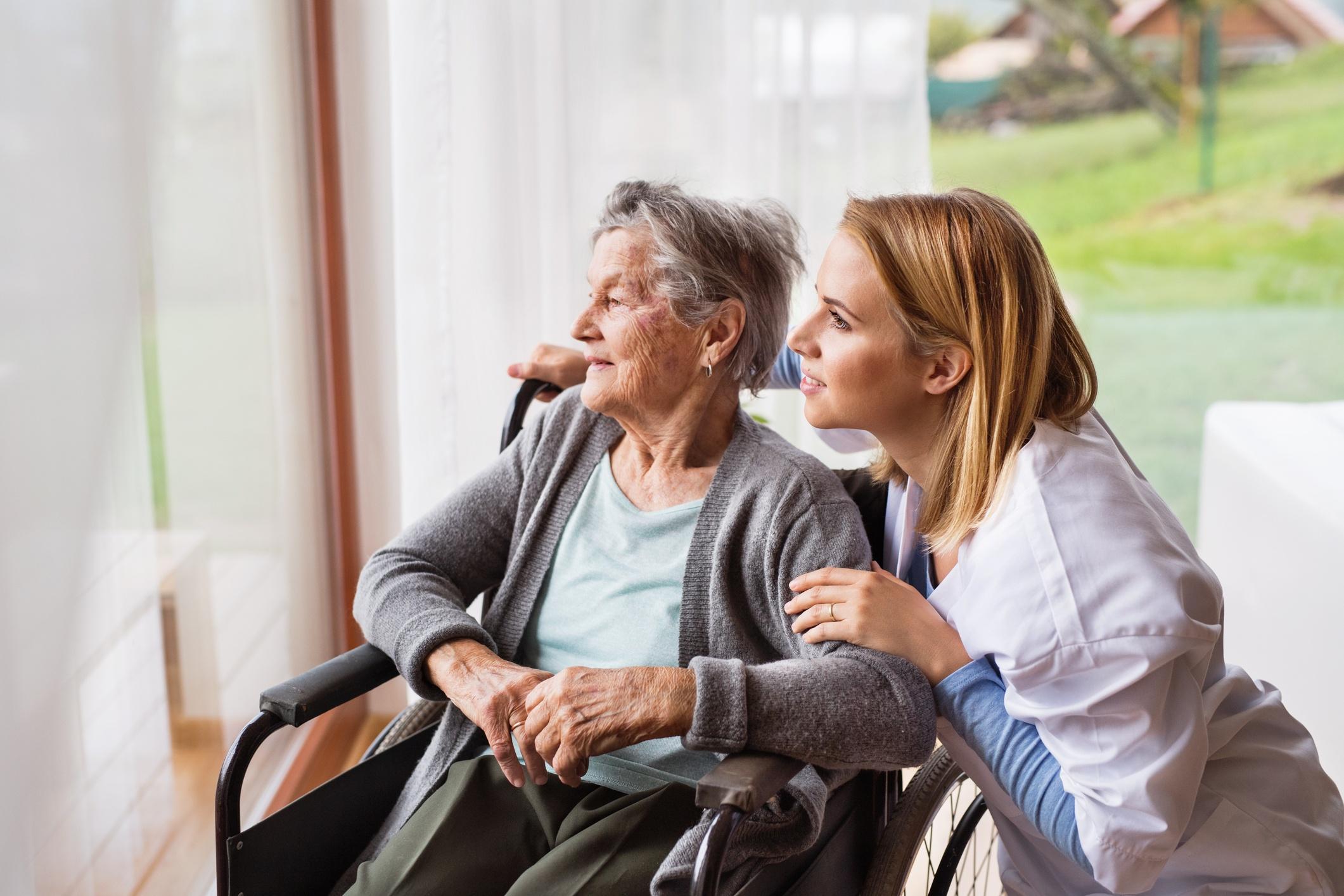 Pflege und Betreuung bei Demenz Foto